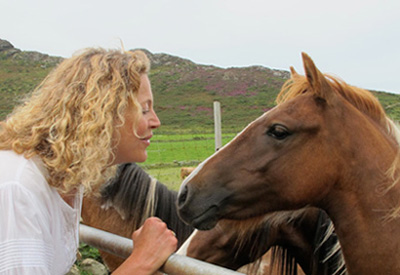 Animal Communication - Shayne and horses 2